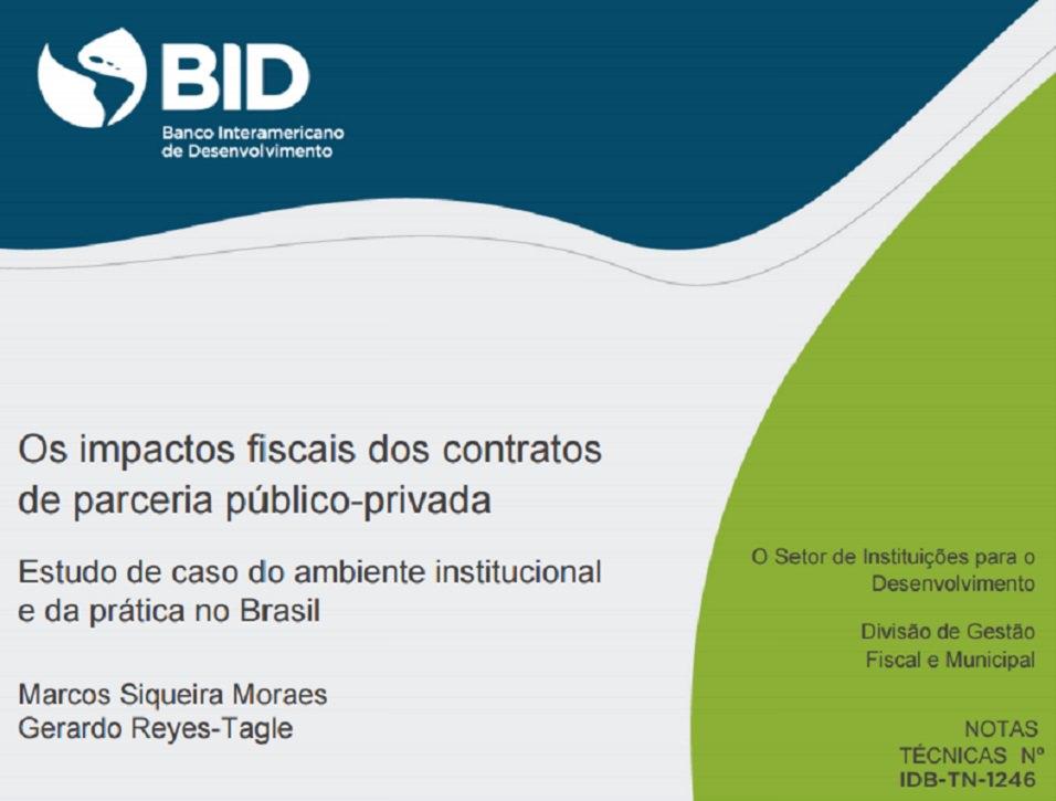 Radar PPP e BID juntos em estudo sobre impactos fiscais das PPPs brasileiras