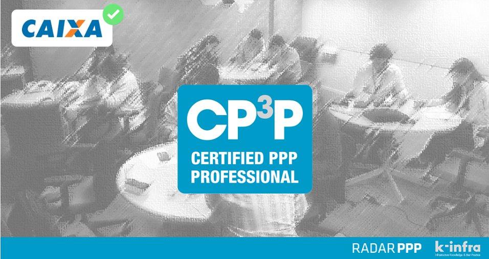 100% de aprovação do time de PPPs da Caixa no exame da Certificação Internacional em PPPs