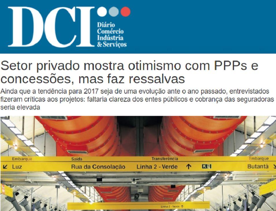 DCI usa informações da Radar PPP