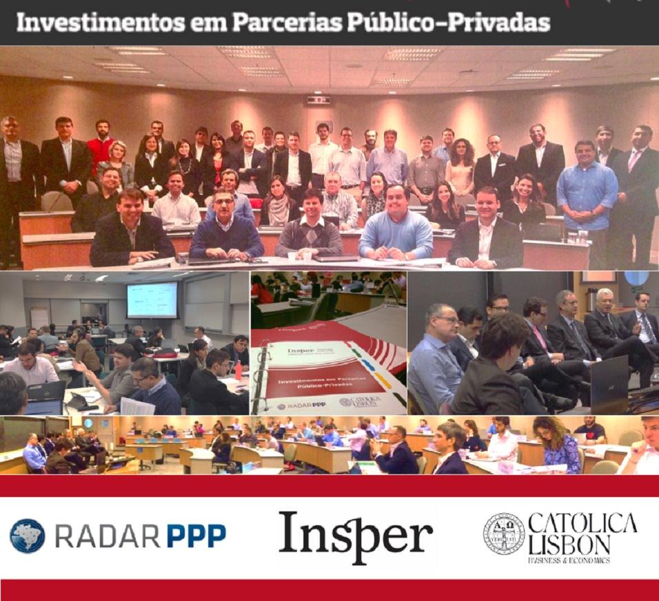 Executivos do mercado de Parcerias Público-Privadas se reúnem em treinamento do Insper, realizado junto com a Radar PPP
