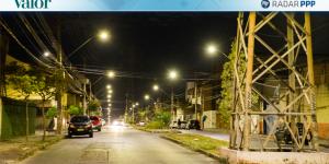 Capa Reportagem - Valor Econômico - PPP sobre Iluminação Pública