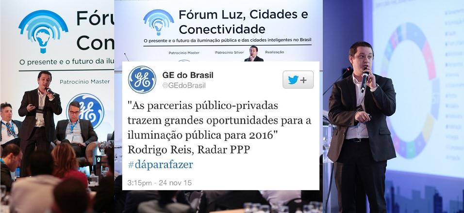 Evento da GE de Iluminação Pública São Paulo no Hotel Intercontinental
