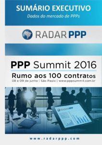 Capa PPP Summit 2016 - Sumário Executivo