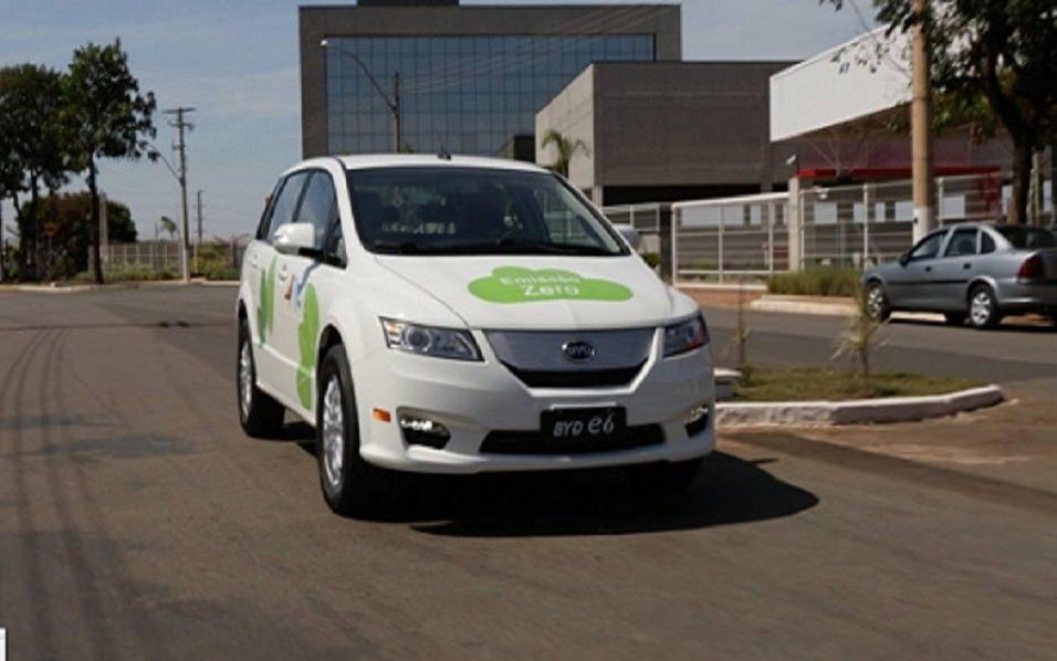 Imagem do Carro Elétrico da BYD