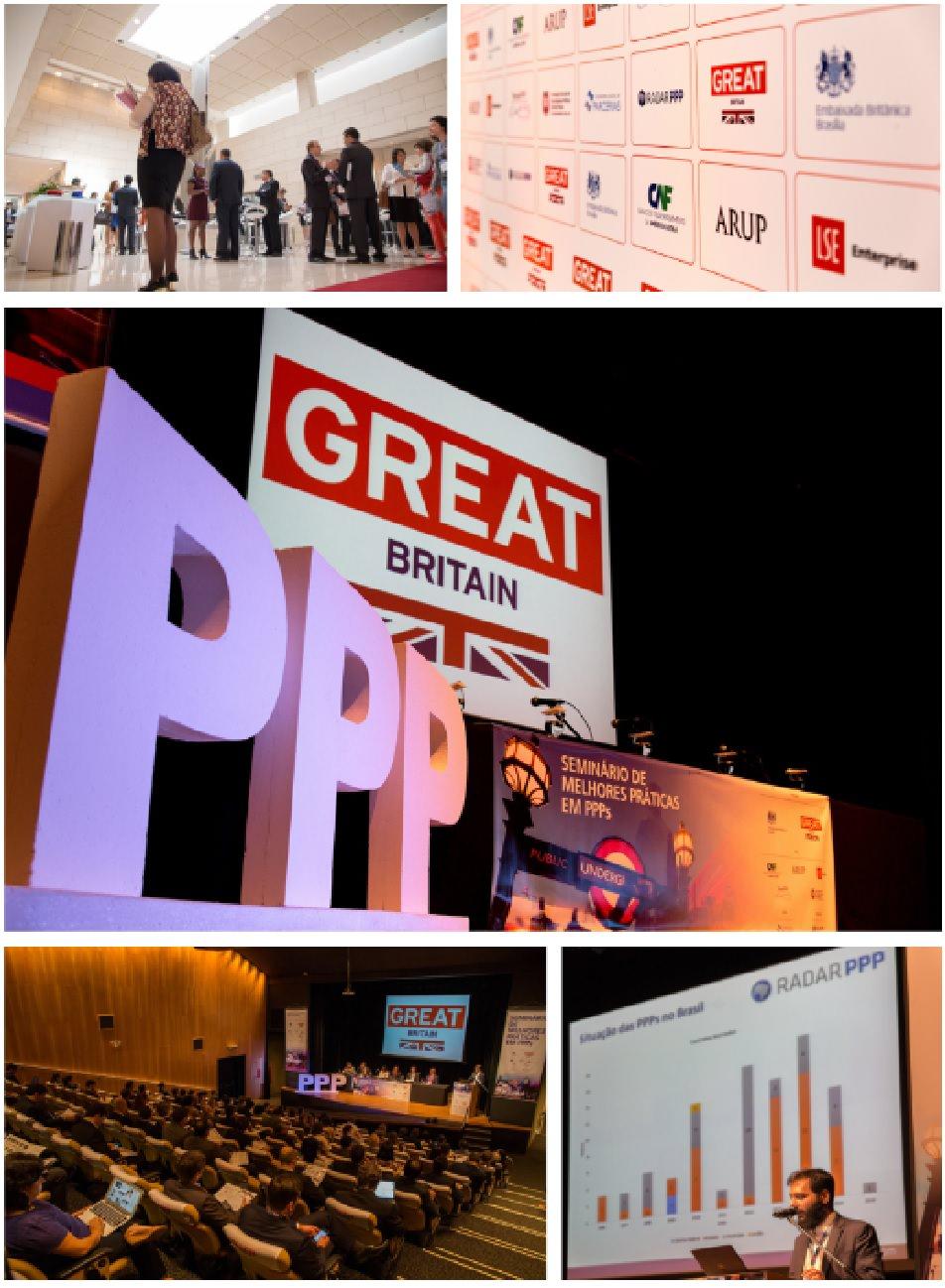 Radar PPP organiza evento de PPP de melhores práticas com experiência britânica