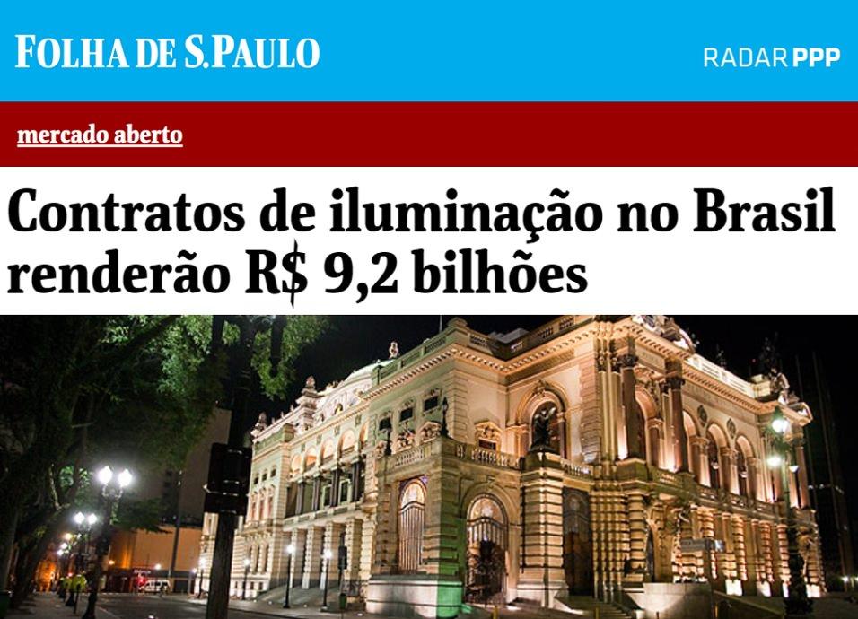 Radar PPP abastece informações da Coluna Mercado abertura sobre Parcerias Público-Privadas de Iluminação Pública
