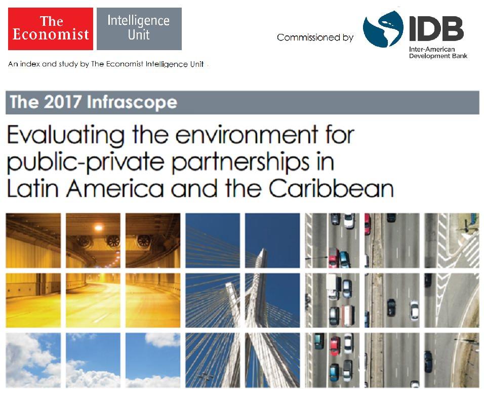 Radar PPP produz conteúdo do Brasil no Infrascope 2017, feito pela The Economist