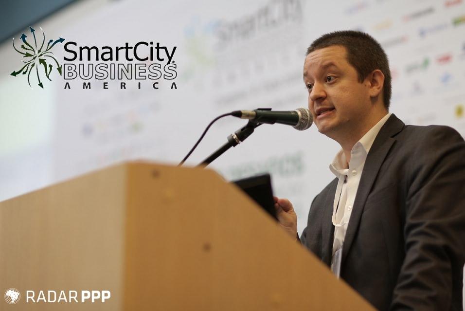 Radar PPP fala de Parcerias Público-Privadas em evento sobre cidades inteligentes.