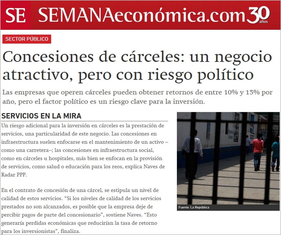 Parcerias Público Privadas no sistema carcerário na América Latina