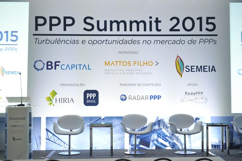Evento de Parcerias Público Privadas (PPP)