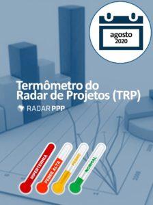 Termômetro do Radar de Projetos - Agosto de 2020