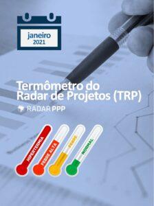 Termômetro do Radar de Projetos - Janeiro de 2021