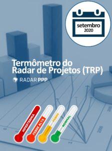 Termômetro do Radar de Projetos - Setembro de 2020